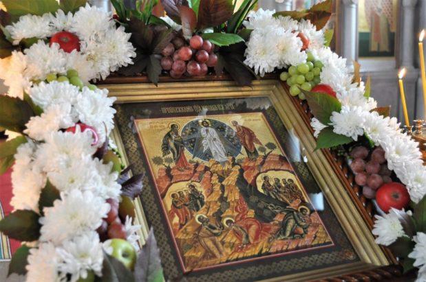 Торжественные богослужения в праздник Преображения Господня